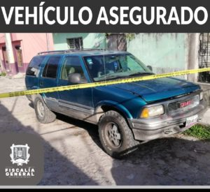carro robado Jimmy